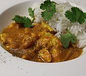 Original indisches Chicken Curry aus Pune (Bild)