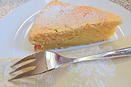 Vanille - saure Sahne Kuchen (Bild)