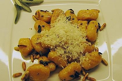 Kürbis Gnocchi mit Salbeibutter 1