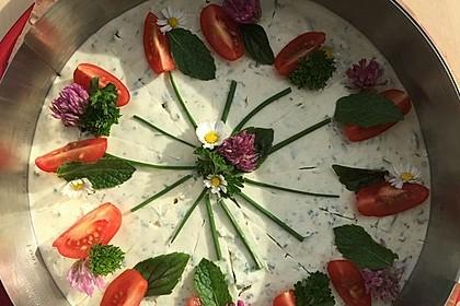 Kräuter - Frischkäse Torte 2