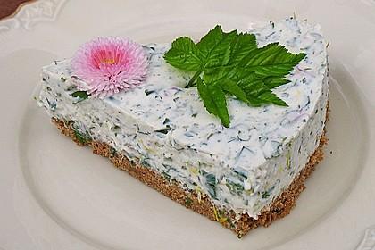 Kräuter - Frischkäse Torte