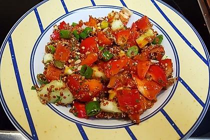 Bunter Limetten - Quinoa Salat 5
