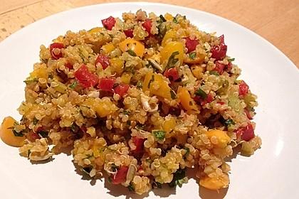 Bunter Limetten - Quinoa Salat 2