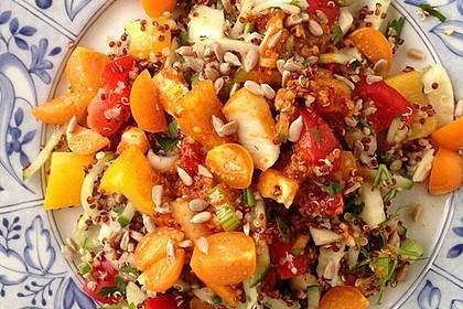 Bunter Limetten - Quinoa Salat 3