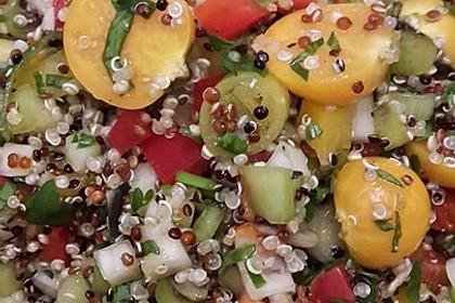 Bunter Limetten - Quinoa Salat 4