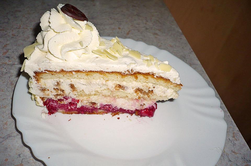 Himbeer Spekulatius Torte Von Miniback Chefkoch De