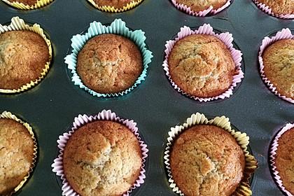 Süße Apfel - Zimt Muffins