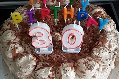 Nougat - Kirsch - Torte 3