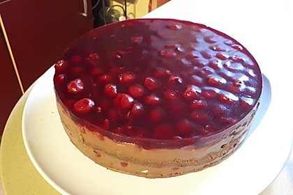 Nougat - Kirsch - Torte 12