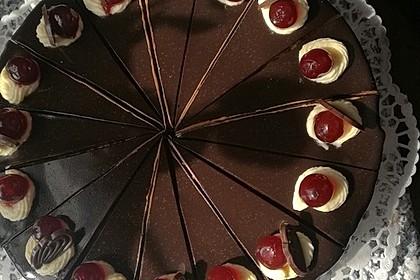 Nougat - Kirsch - Torte 2