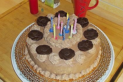 Nougat - Kirsch - Torte 9