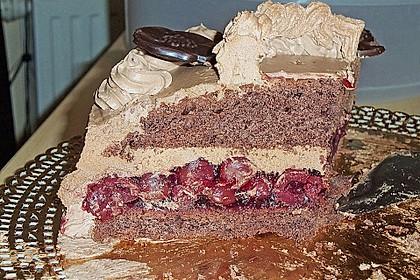 Nougat - Kirsch - Torte 4