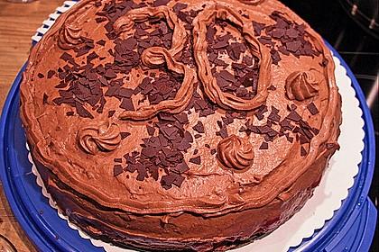 Nougat - Kirsch - Torte 10