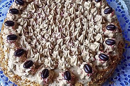 Nougat - Kirsch - Torte 7