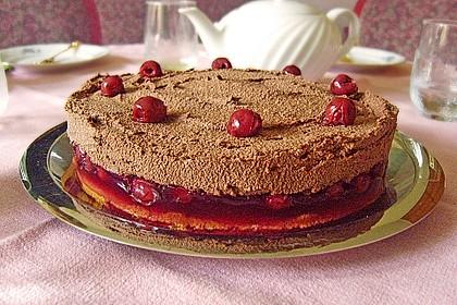 Nougat - Kirsch - Torte 1