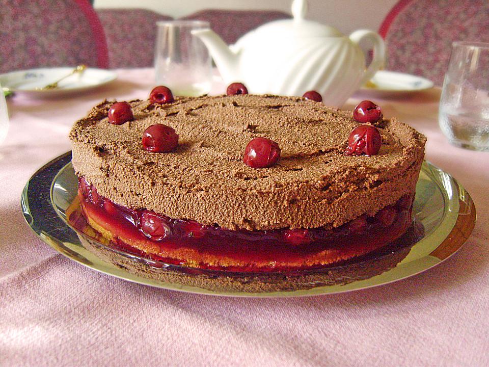 Nougat Kirsch Torte Von Fakessa Chefkoch De