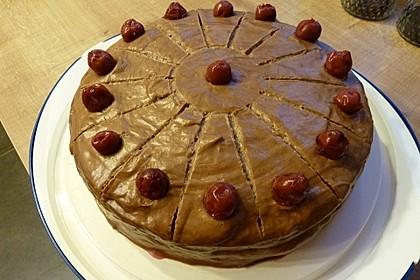 Nougat - Kirsch - Torte 5