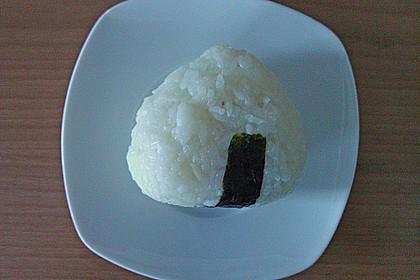 Onigiri mit Thunfisch - Mayonnaise - Füllung 5