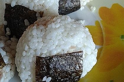 Onigiri mit Thunfisch - Mayonnaise - Füllung 4