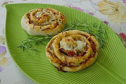 Pizza-Schnecken 1