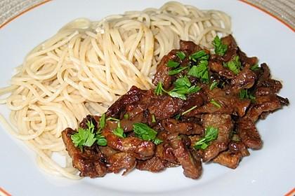 Chinesisches Rindfleisch mit Knoblauch 4