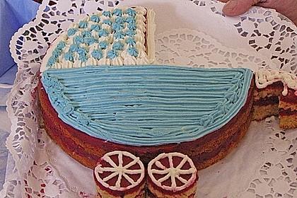 Schwarze Johannisbeer (Cassis) Torte