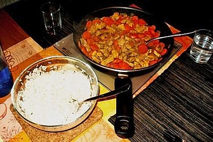 Currygeschnetzeltes nach Christas Art