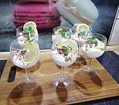 Schnelles Zitronencreme-Dessert - ohne Eier und Gelatine (Bild)