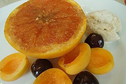 Grapefruit mit Zimt - Zuckerkruste