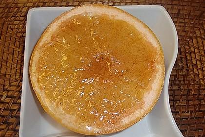 Grapefruit mit Zimt - Zuckerkruste 3
