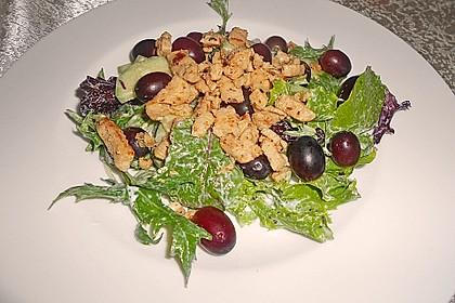Hühnchen - Rucola - Gurken - Trauben Salat 2
