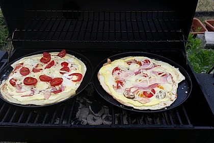 Pizza vom Grill 4