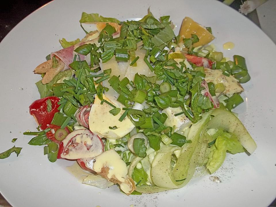 Gemischter Salat Mit Joghurtdressing Von Klaviklax Chefkochde