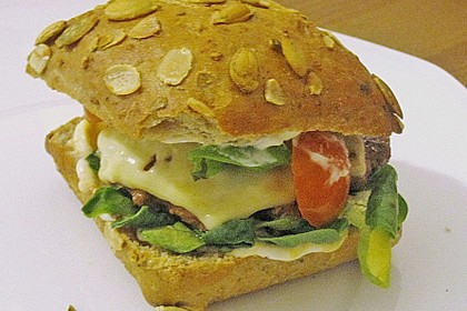 Easy Healthy Cheeseburger