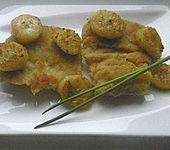 Seelachsfilet mit Currybananen (Bild)