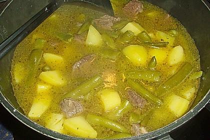 Rindfleisch - Bohneneintopf 3