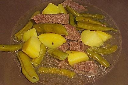 Rindfleisch - Bohneneintopf