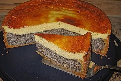 Mohn-Schmand Kuchen 3