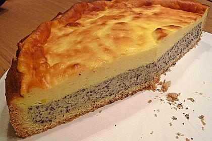 Mohn-Schmand Kuchen 1