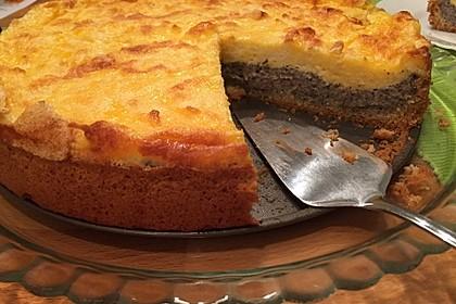 Mohn-Schmand Kuchen 16