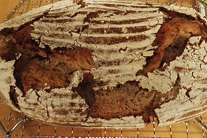 Honig-Bier Brot (Bild)