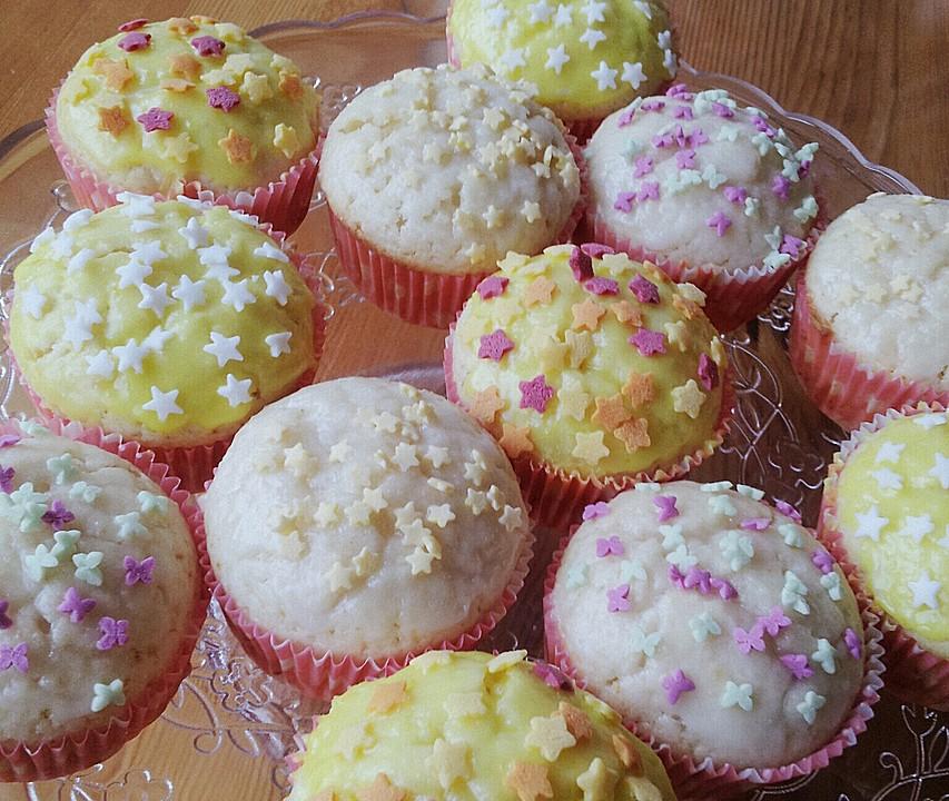 Zitronen muffins mit buttermilch rezept