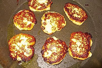 Kartoffelpuffer aus Kartoffelbrei 13