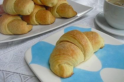 Fettarme Croissants 1