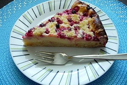 Ribisel-Topfen Kuchen mit Streusel 36