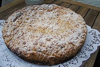 Ribisel-Topfen Kuchen mit Streusel 15