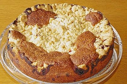 Ribisel-Topfen Kuchen mit Streusel 41