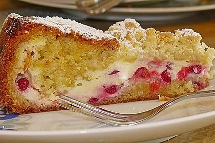 Ribisel-Topfen Kuchen mit Streusel 12