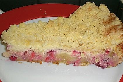 Ribisel-Topfen Kuchen mit Streusel 37