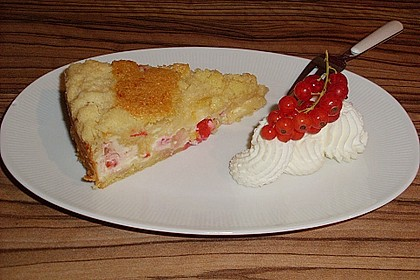 Ribisel-Topfen Kuchen mit Streusel 30